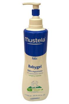 Mustela Babygel Foaming Bath 25.35 oz