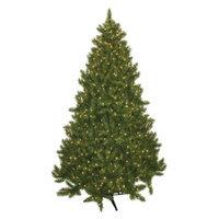 General Foam 7.5' Pre-Lit Wintergreen Fir Tree - Clear Lights