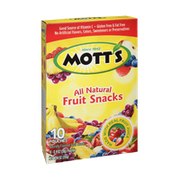 Mott's All Natural Fruit Snacks