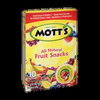 Mott's All Natural Fruit Snacks