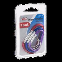 Bell Key Chain - 3 PK