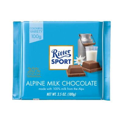 Ritter Sport Alpine Milk Chocolate