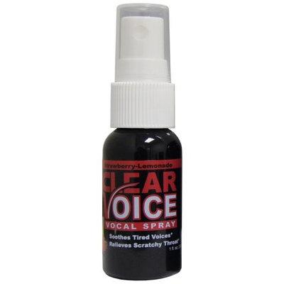Clear Voice Vocal Spray, Strawberry Lemonade
