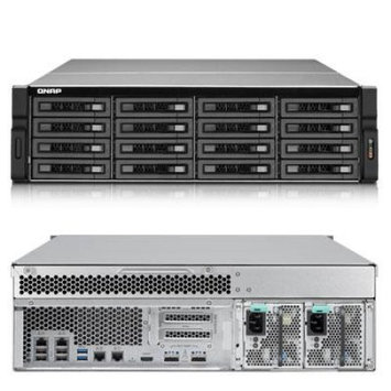 QNAP TS-EC1679U-SAS-RP 16-bay SAS/SATA-enabled Unified Storage