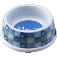 Ethical Dog Ethical Pet Products (Spot) CSO6853 Meow Melamine No-Tip Cat Dish, 5-Inch, Blue