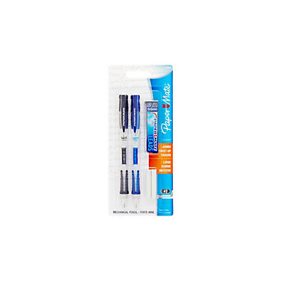 Paper Mate(R) Clearpoint(TM) Mechanical Pencil Starter Set, 0.5mm, Assorted Barrel Colors, Pack Of 2