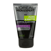 L'Oréal Paris Men Expert Pure & Matte Charcoal Black Scrub