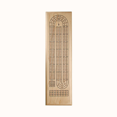 Wood Expressions Classic Maple Cribbage Set