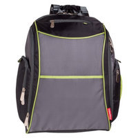 Fisher-Price Fisher Price Urban Backpack Diaper Bag - Black/Lime/Grey