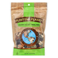 Plentiful Planet Trail Mix Happy Heart Bag 10 OZ (Pack of 6)