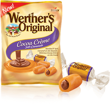 Werther's Cocoa Crème Caramels