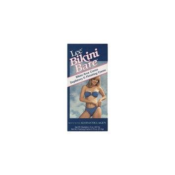 Lee Pharmaceuticals Lee Bikini Bare With aloe and collagen.Bikini area crème and depilatory and finishing crème
