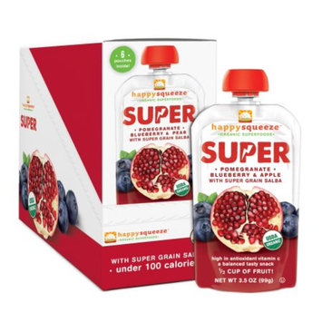 Happy Squeeze Organic Superfood Super Pomegranate