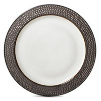 Threshold Barnet Round Dinner Plate Set of 4 - Bronze (10.5