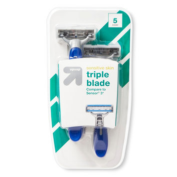 up & up Men's Triple Blade Disposable Razors - 5ct
