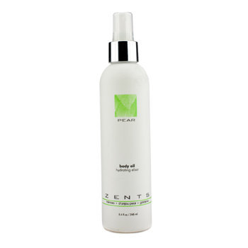 Zents Pear Body Oil Hydrating Elixir 248ml/8.4oz