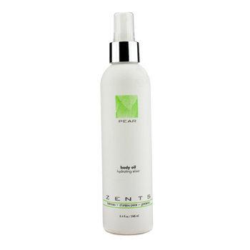 Zents Pear Body Oil Hydrating Elixir 248ml/8.4oz