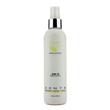 Zents Oolong Body Oil Hydrating Elixir 248ml/8.4oz