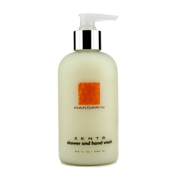 Zents Mandarin Shower & Hand Wash 242ml/8.5oz
