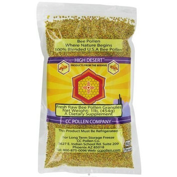 High Desert Pollen Granules-New Label semi-moist CC Pollen 1 lb Bag