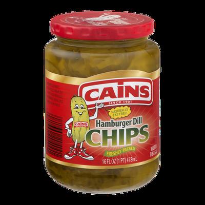 Cains Hamburger Dill Chips