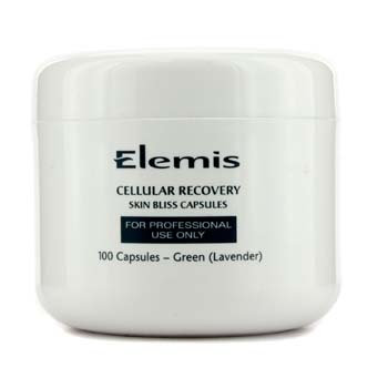 Elemis 16175200001 Cellular Recovery Skin Bliss Capsules - Salon Size - Green Lavender - 100 Capsules
