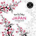 Vive Le Color: Japan (coloring Book): Color In; De-stress (72 Tear-out Pages)