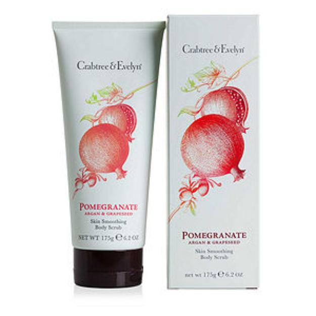 Crabtree & Evelyn Pomegranate Body Scrub