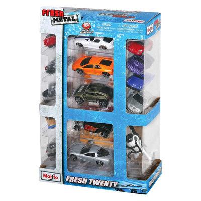 Maisto Fresh Metal Twenty 20 Pack Collectible Set of Cars