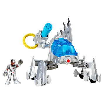 License Fisher-Price Imaginext Justice League Cyborg Mech