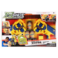 Xshot Excel Xcess Dart and Disc Blaster Double Pack Shootout Set