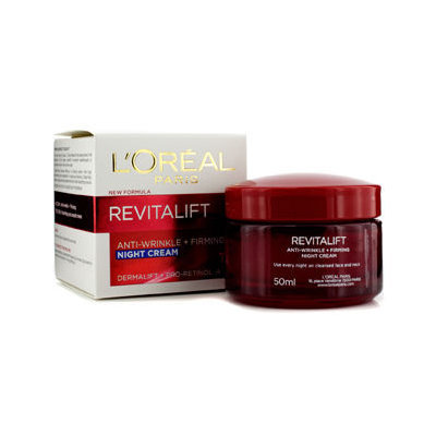 L'Oréal - RevitaLift Anti-Wrinkle + Firming Night Cream 50ml