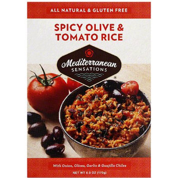 Mediterranean Sensations Spicy Olives & Tomato Rice Mix, 6 oz, (Pack of 12)
