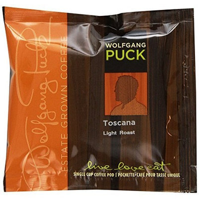 Wolfgang Puck Coffee Toscana Pods, 18-Count Pods (Pack of 3)