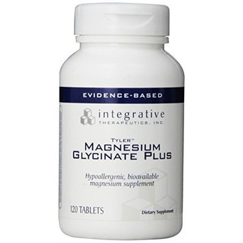 Integrative Therapeutic's Integrative Therapeutics - Magnesium Glycinate Plus - 120 tabs (Premium Packaging)