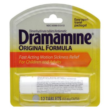 Dramamine Motion Sickness Relief 50 mg