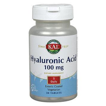 Kal Hyaluronic Acid - 100 mg - 30 Tablets