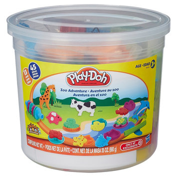 Play-Doh Animal Activities Zoo Adventure Set