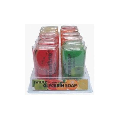 Swissco Fruit Scented Glycerine Soap 3.5 oz. (2 Pieces)