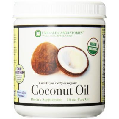 Emerald Laboratories Coconut Oil Liquid, 16 Ounce