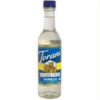 Torani B80706 Torani Sugar Free Vanilla Syrup -6x12.7oz