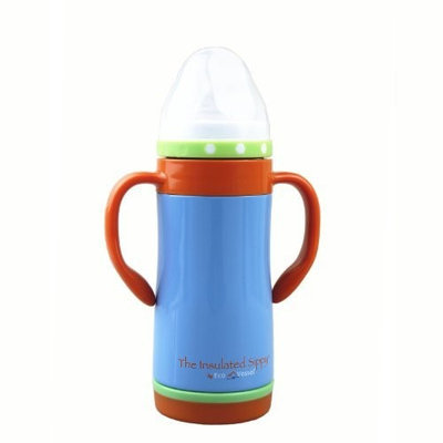 'The Insulated Sippy' by Eco Vessel Insulated Stainless Steel Sippy Cup - 10 Oz - Hudson Blue - 10 oz - Container