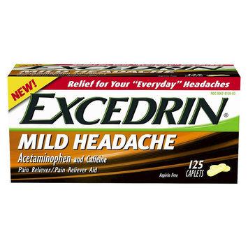 Excedrin Mild Head Ache Reliever Caplets -125 Count