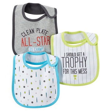 Just One You Made By Carter's Just One YouMade by Carter's Newborn Boys' 3 Pack Sports Bib Set
