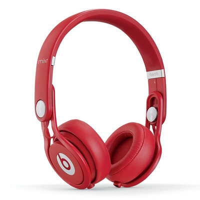 Beats Electronics Beats Mixr On-Ear Headphones 848447001828 (Red)