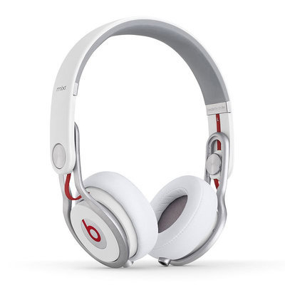 Beats Mixr On-Ear Headphones 848447000449 (White)