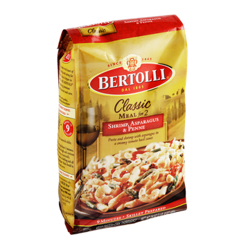 Bertolli® Classic Meal For Two Shrimp, Asparagus & Penne