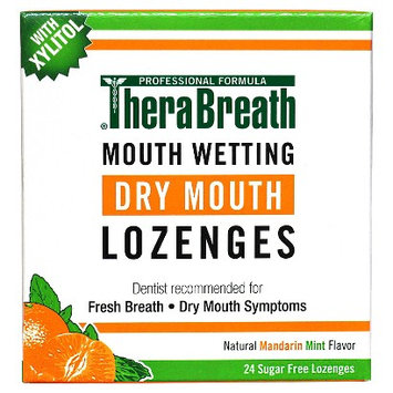 TheraBreath Dry Mouth Lozenges 24 count