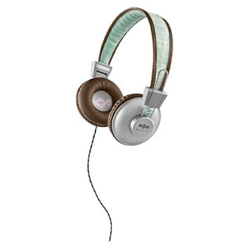 Marley Positive Vibration On-Ear Headphone - Brown/Green (EM-JH011AQ)