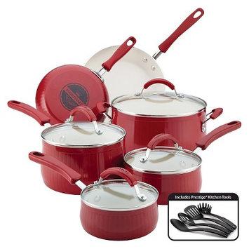 Farberware Nt Farberware New Traditions 14 Piece Aluminum Nonstick Cookware Set